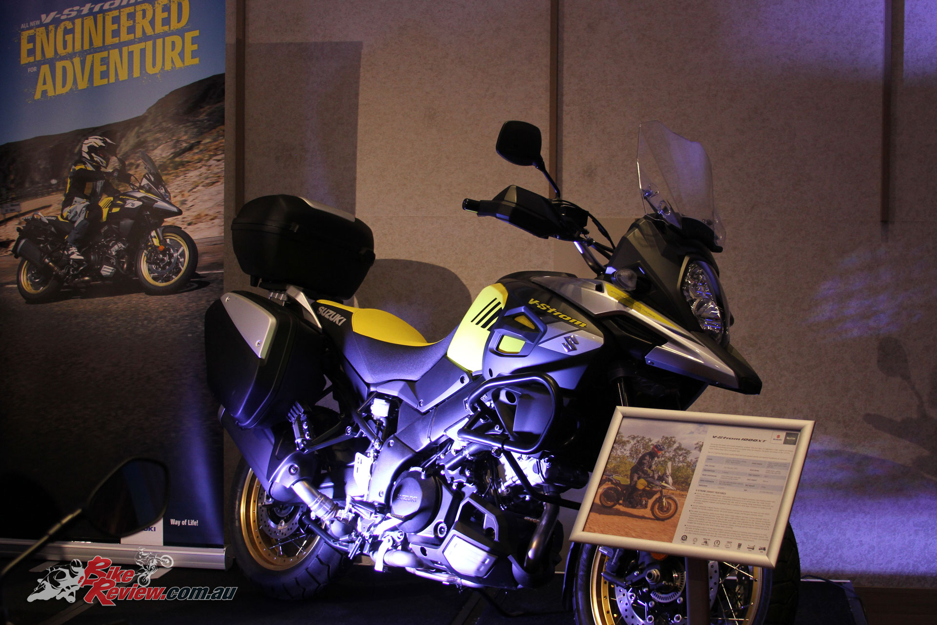 The Suzuki V-Strom 1000XT
