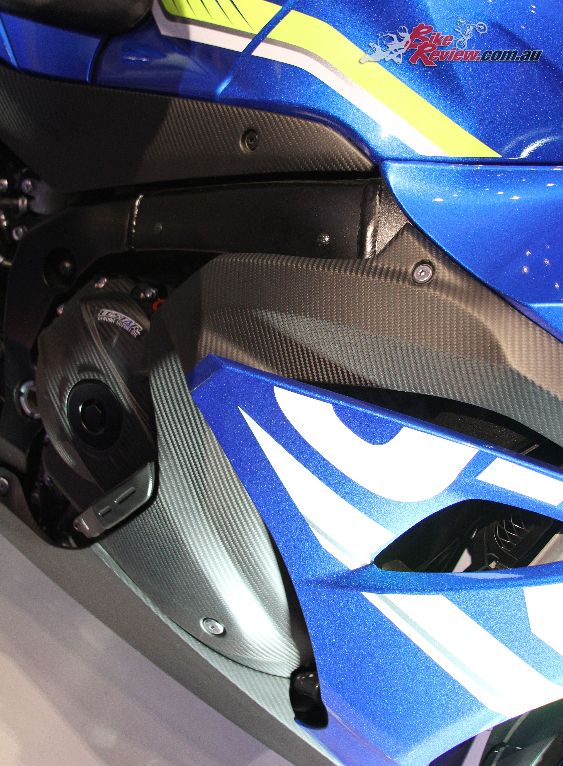 Some awesome carbon-fibre fairings