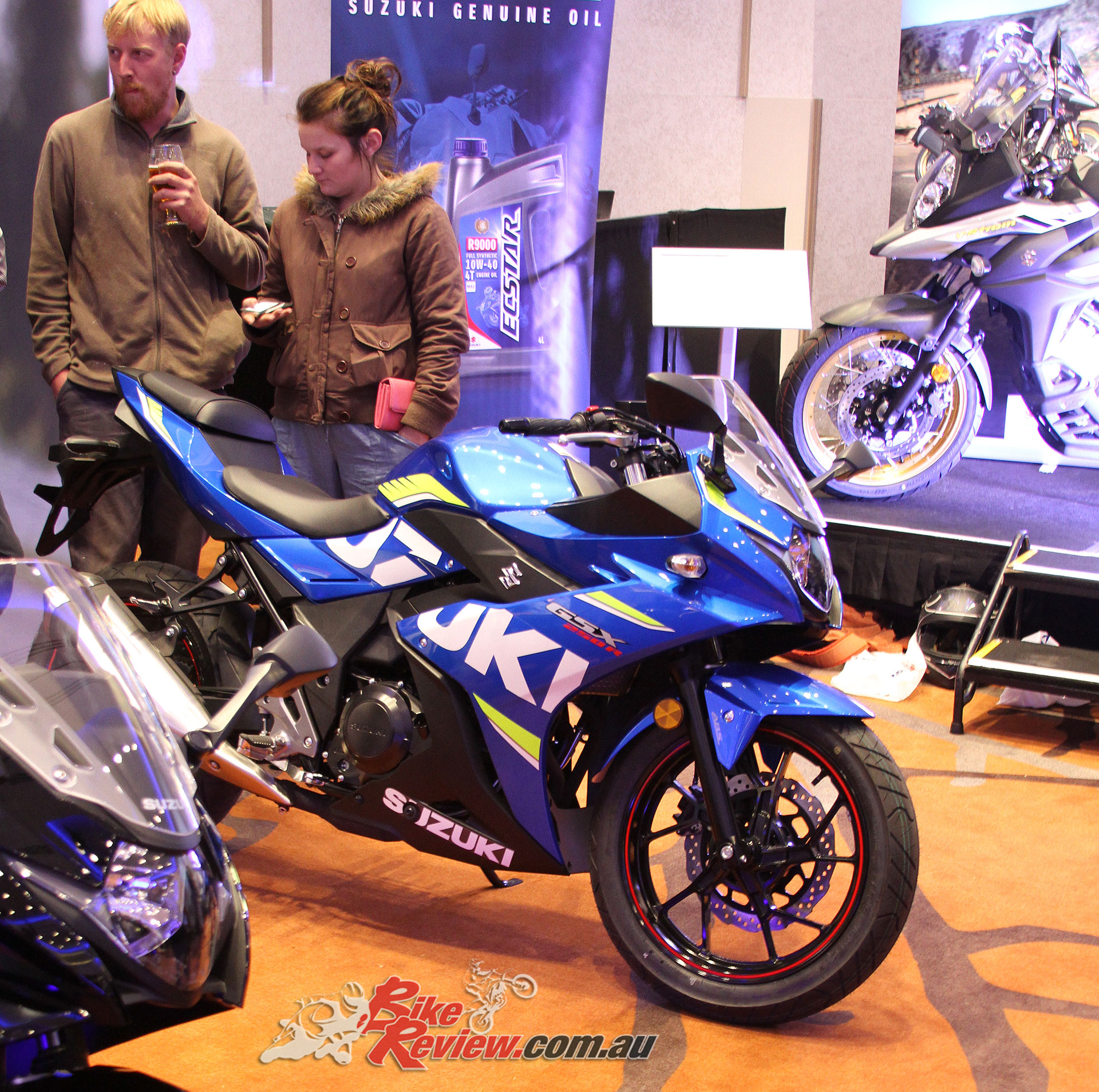 The new Suzuki GSX-R250 in race livery