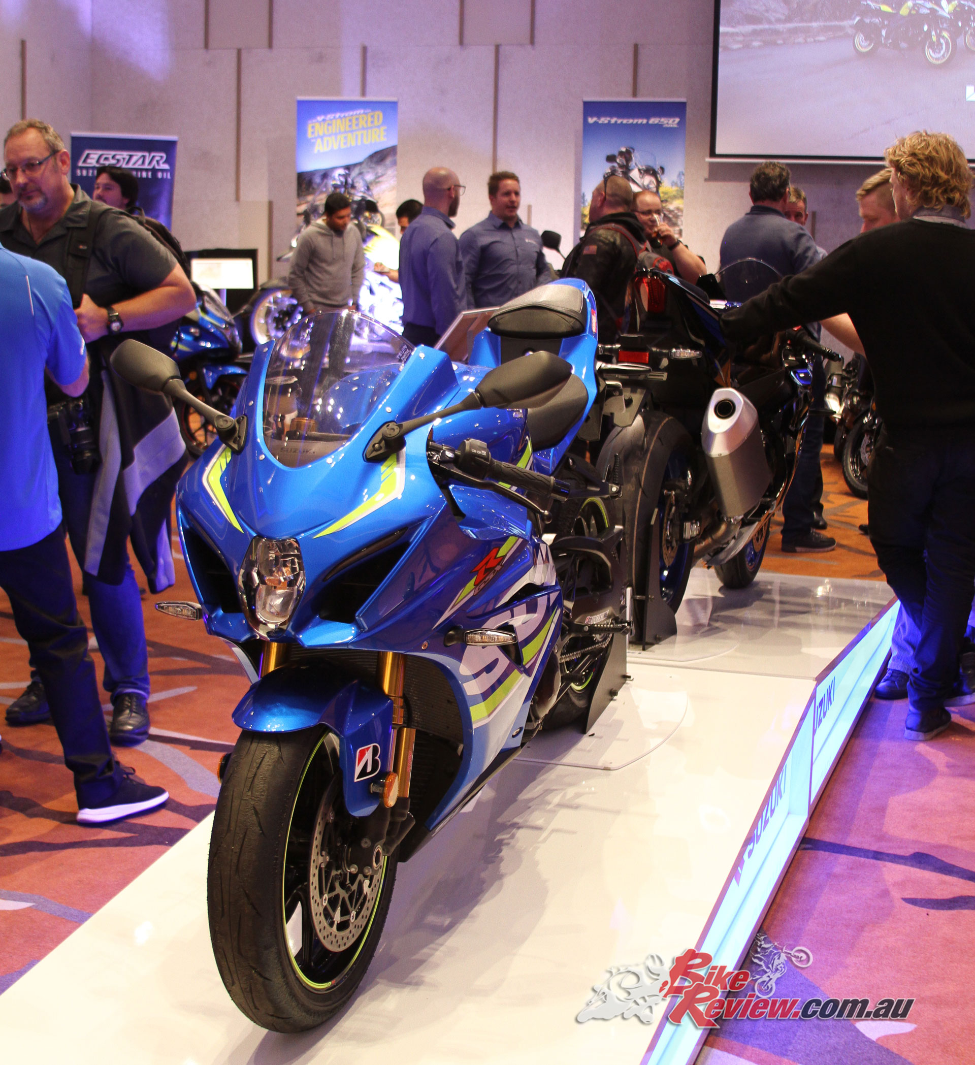 Front view of the GSX-R1000R