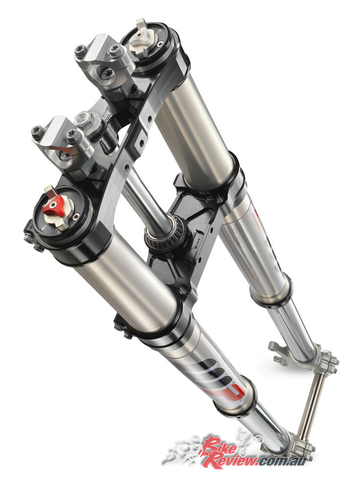 WP Xplor 48 front forks will be found on the entire Enduro range