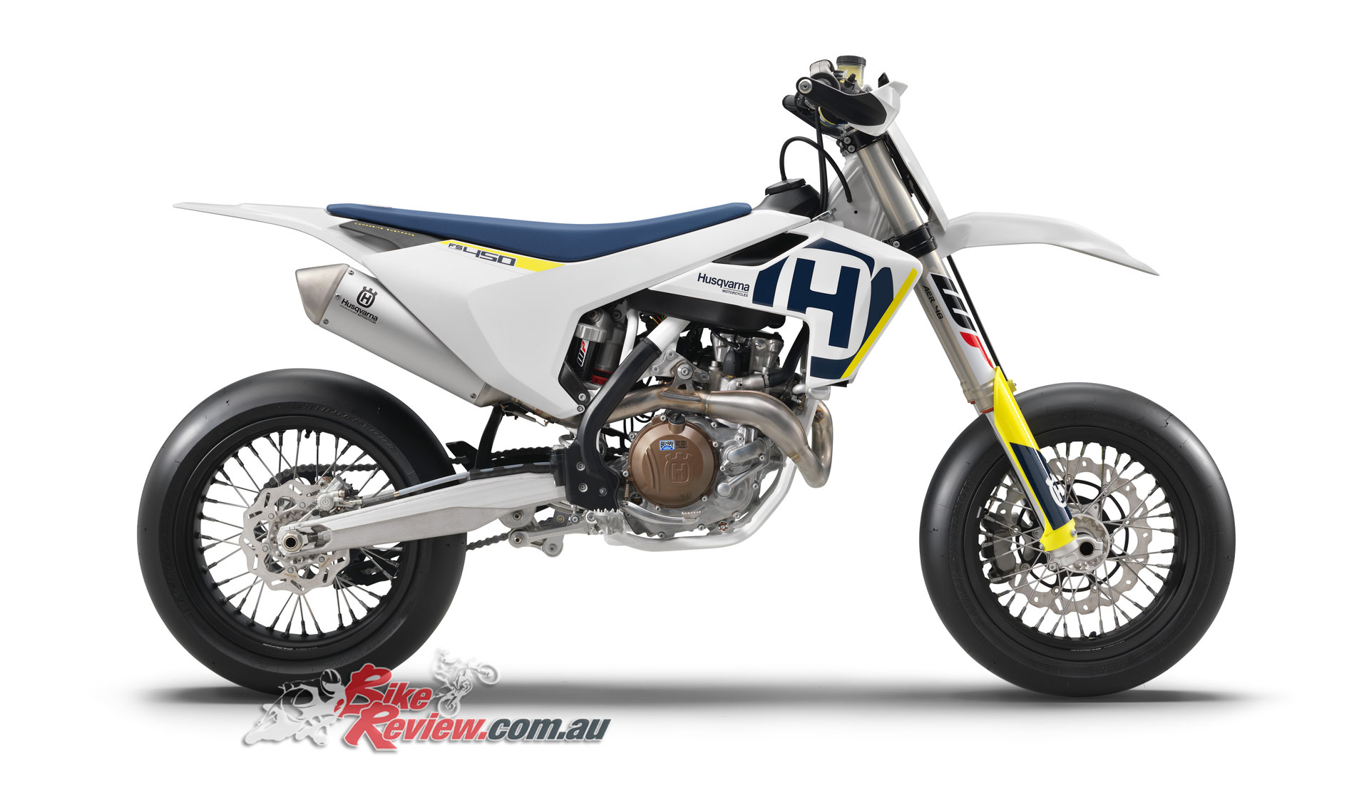 husqvarna introduces new fs 450 supermoto bike review. Black Bedroom Furniture Sets. Home Design Ideas