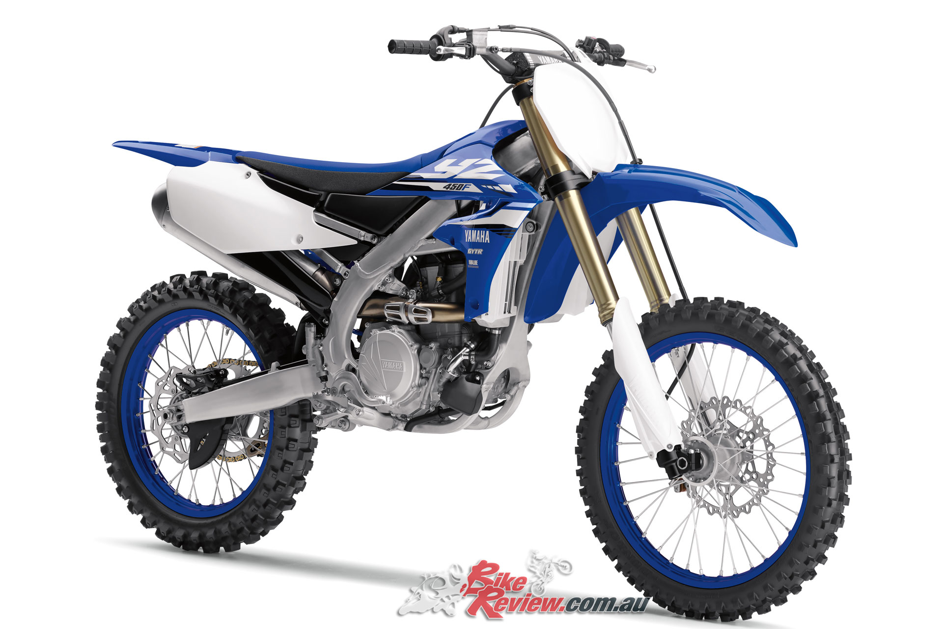 Yamaha 39 s all new yz450f arrives bike review for New yamaha 450