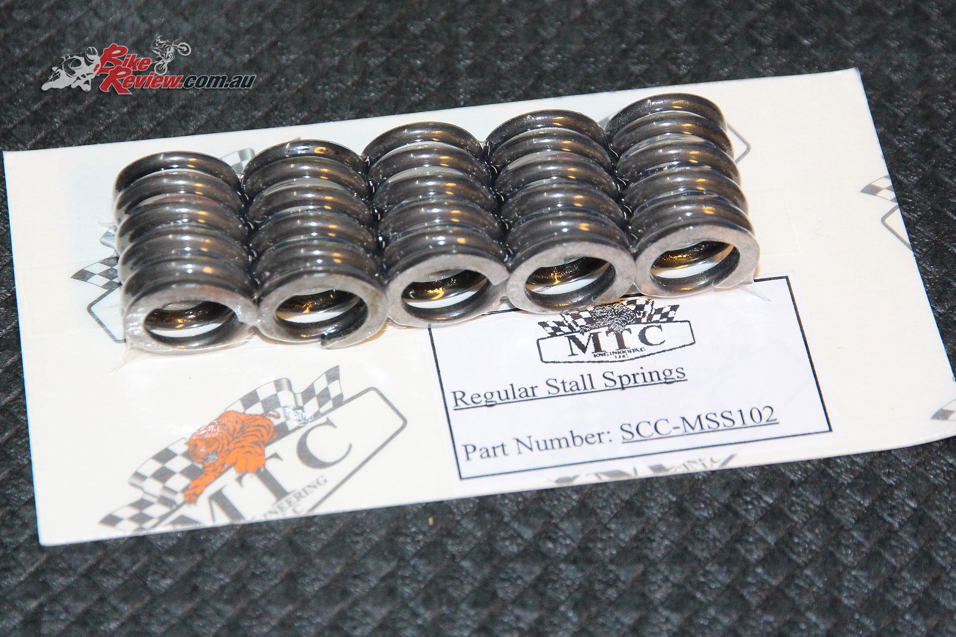 Spare regular stall springs.