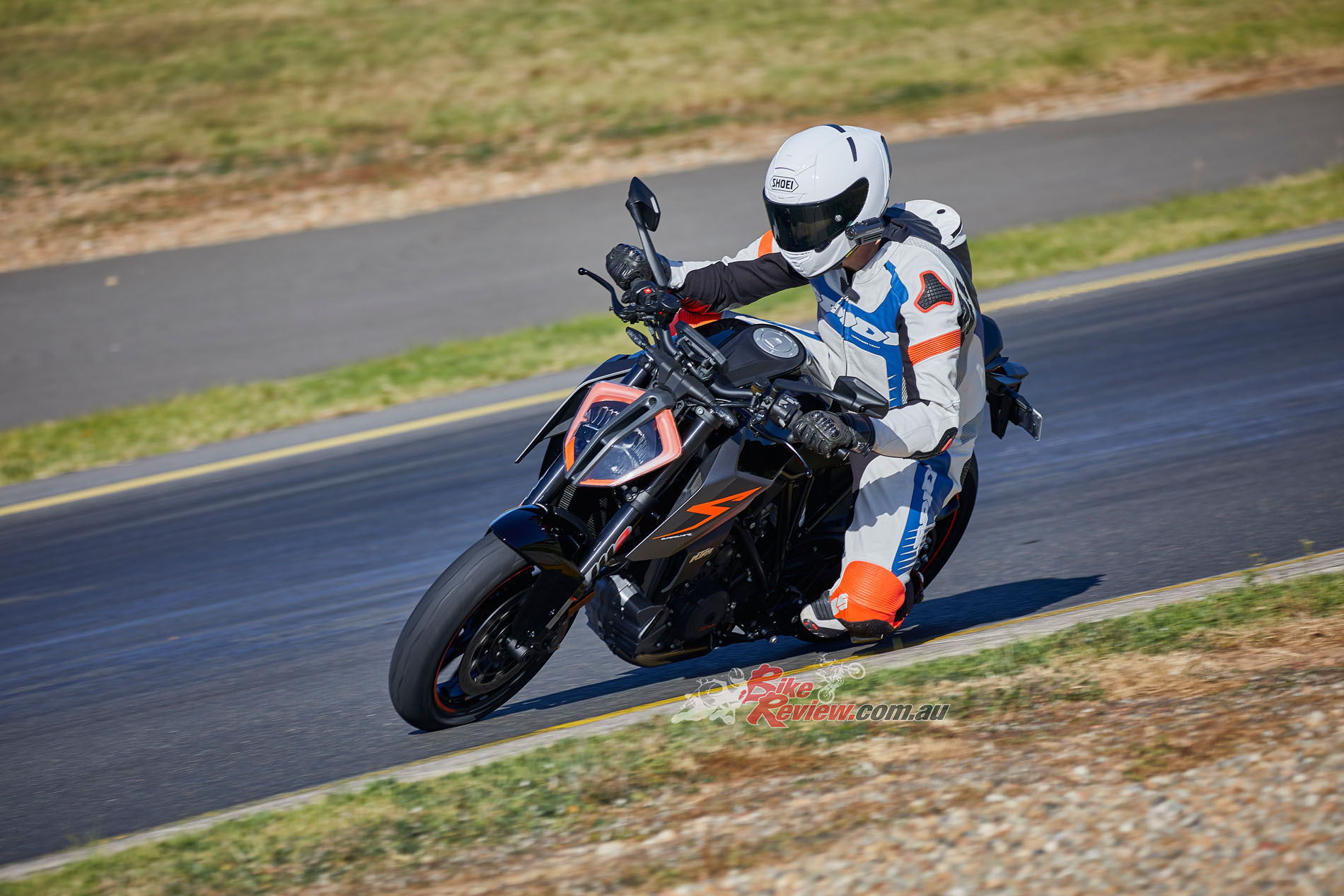 Ground clearance is exceptional, ride position natural and the WP shock good, responding to small changes. Firing off turns is where the big grins come from on this Beast 2.0!