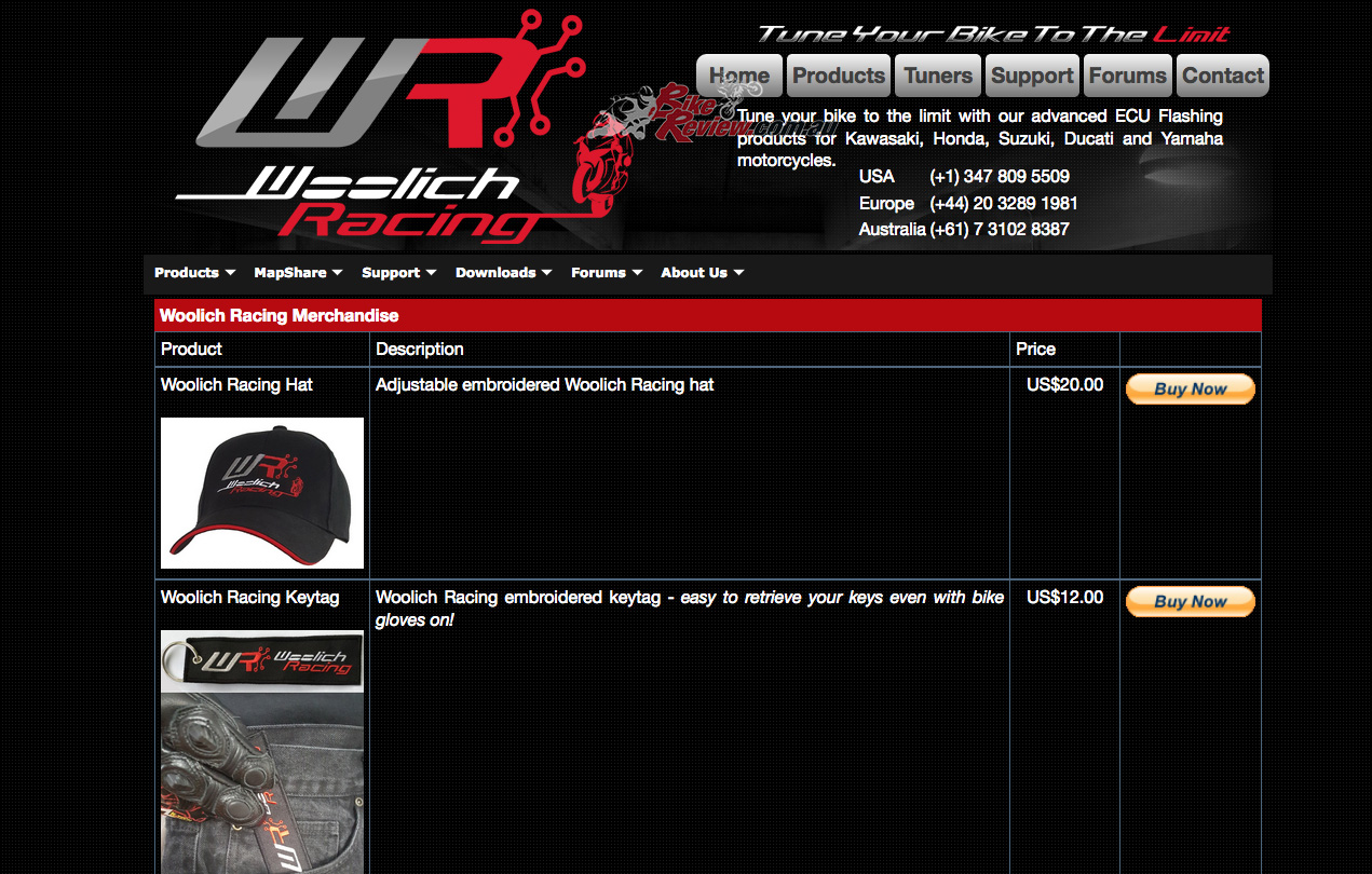 Woolich Racing Merchandise Available Now! - Bike Review