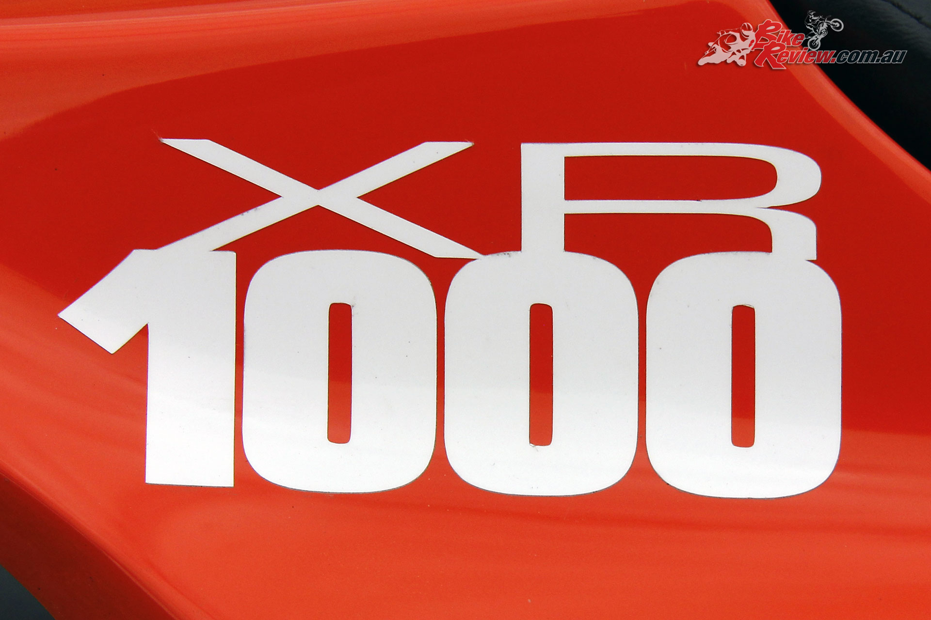 The XR 1000 was a tribute to the highly successful XR 750
