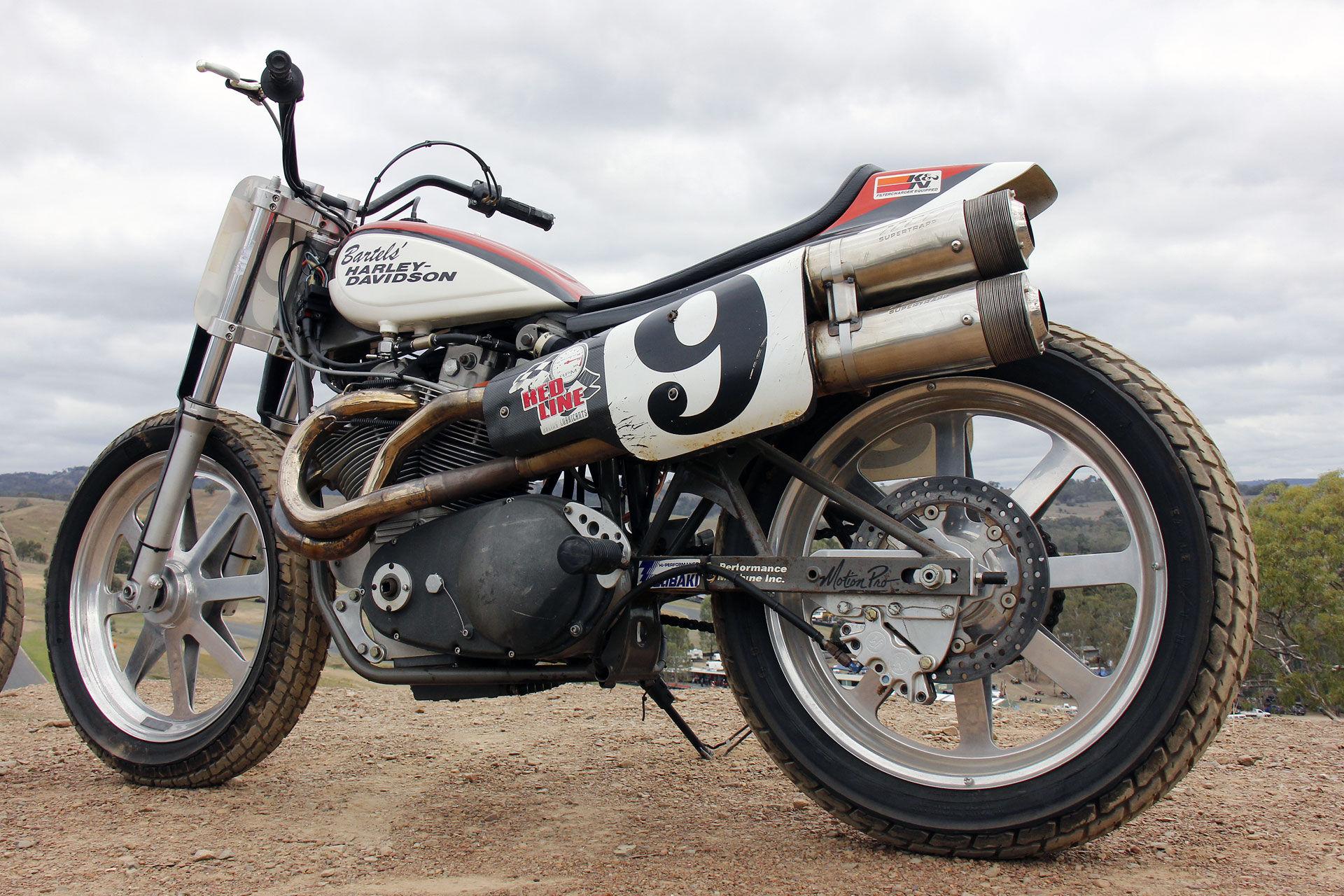 Eddy's XR 750 is a real glimpse into a competition machine of the era