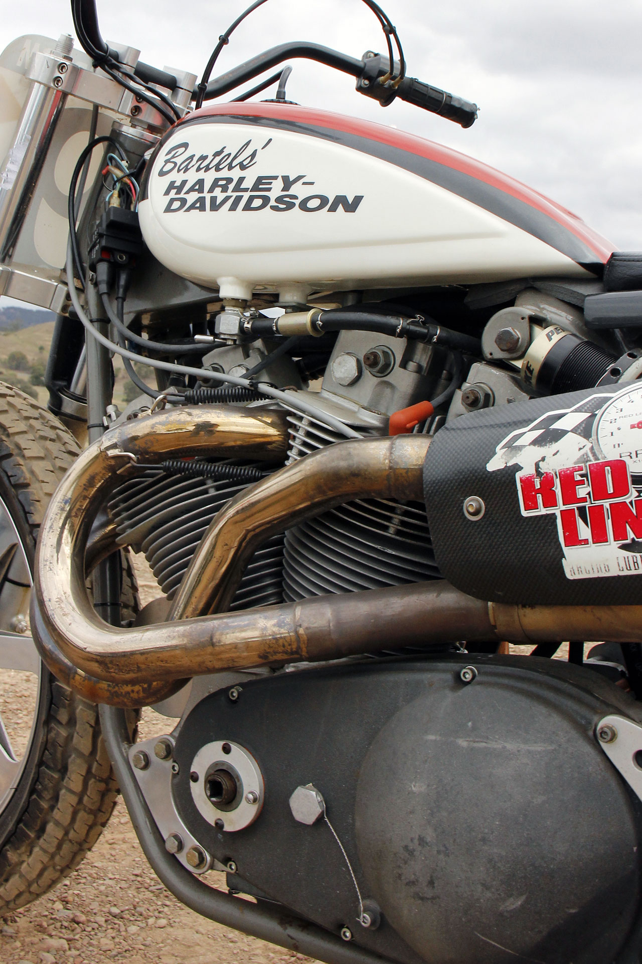The adoption of the all alloy engine from 1972 for the XR 750 was a big step forward