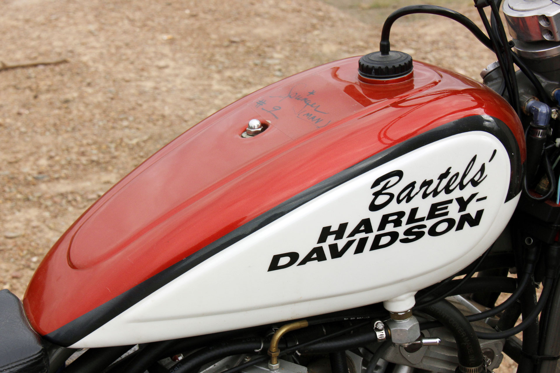 The Harley-Davidson XR 750 was the name in Flat Track racing for a very, very long time