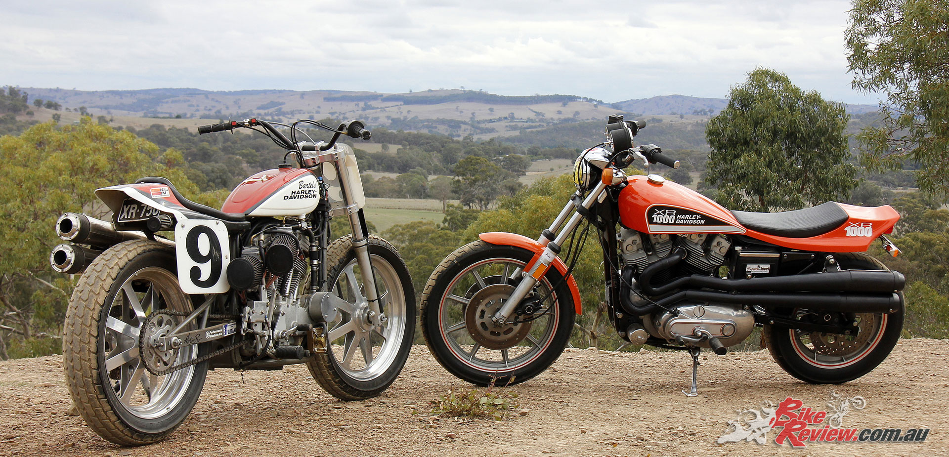Custom: Harley XR 1000 & XR 750 Flat Tracker - Bike Review