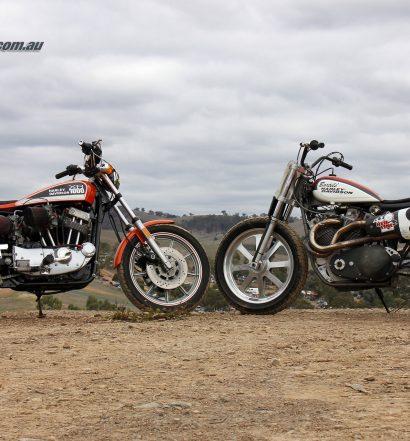 Harley-Davidson XR 750 Flat Tracker and XR 1000