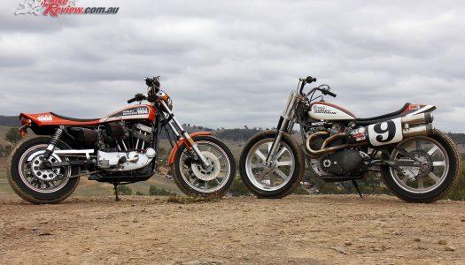 Custom: Harley XR 1000  & XR 750 Flat Tracker