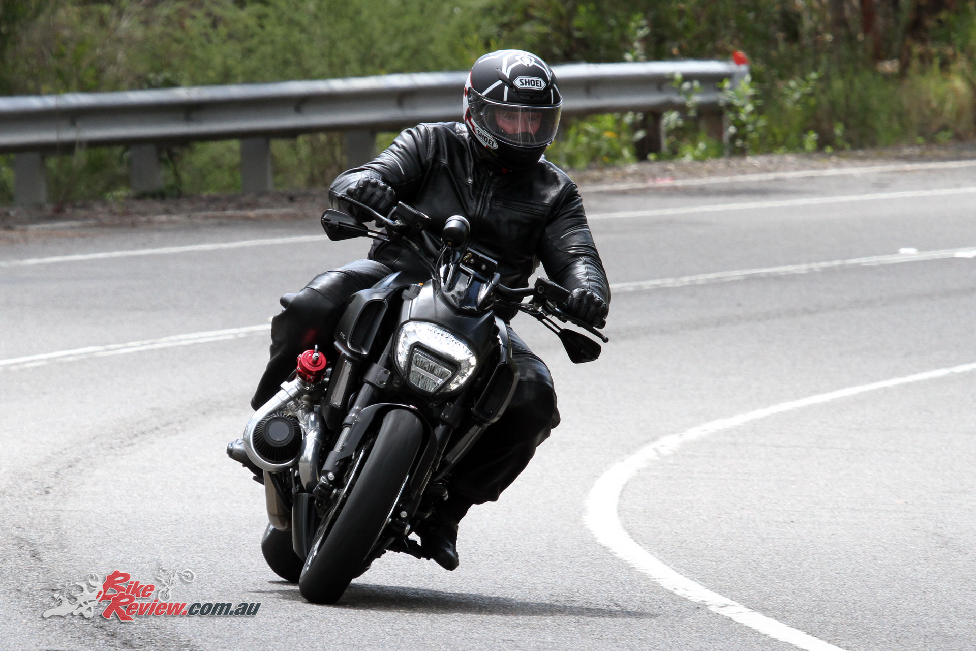 The Diavel is not your average cruiser, and the S&R Pro job takes it to the next level