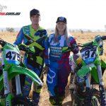 Kawasaki' Meghan Rutledge and Matt Jones post strong Finke results