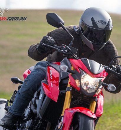 Merlin Sandon Waxed Cotton Jacker - Olive - Suzuki GSX-S750