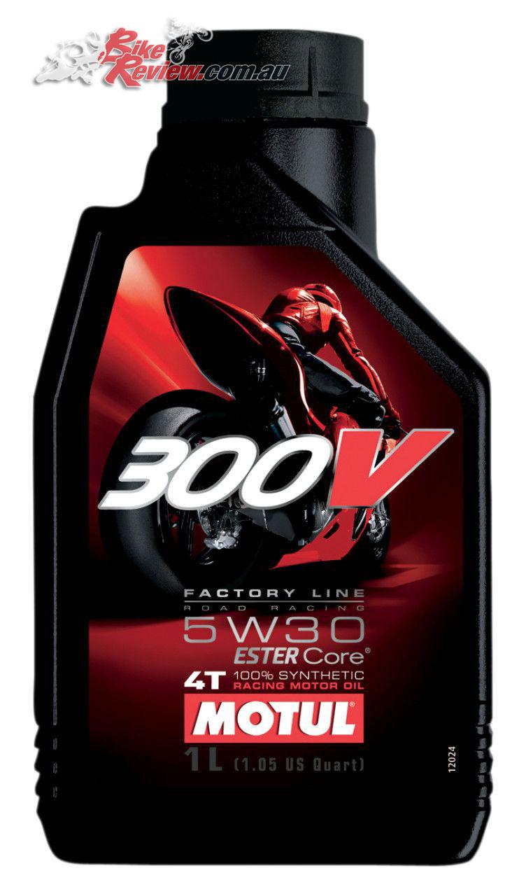 Motul 300V the racing derived engine oil option