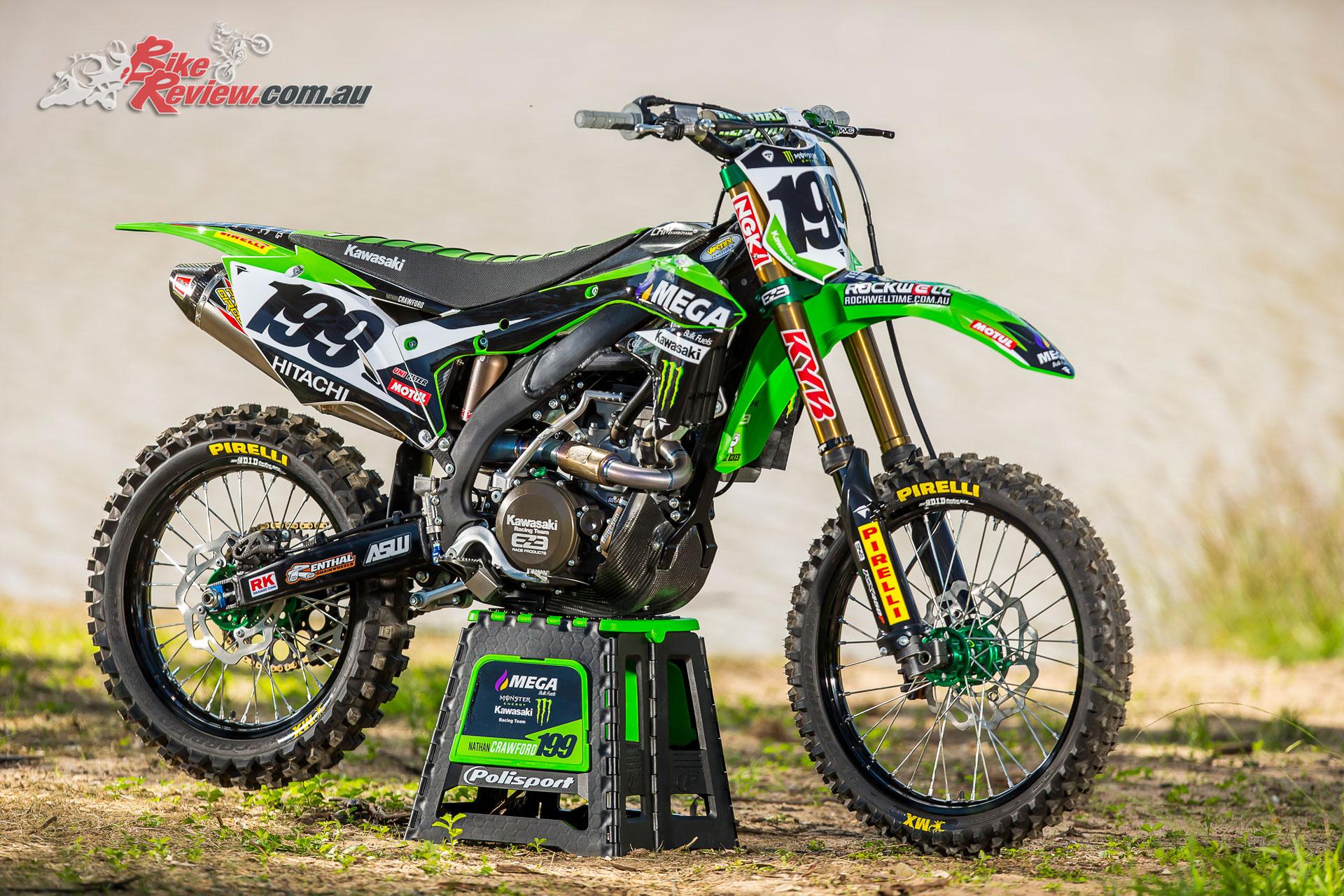 Nathan Crawford's Kawasaki KX450F