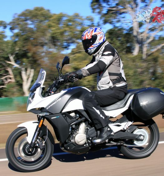 2017 CFMoto 650MT freeway riding