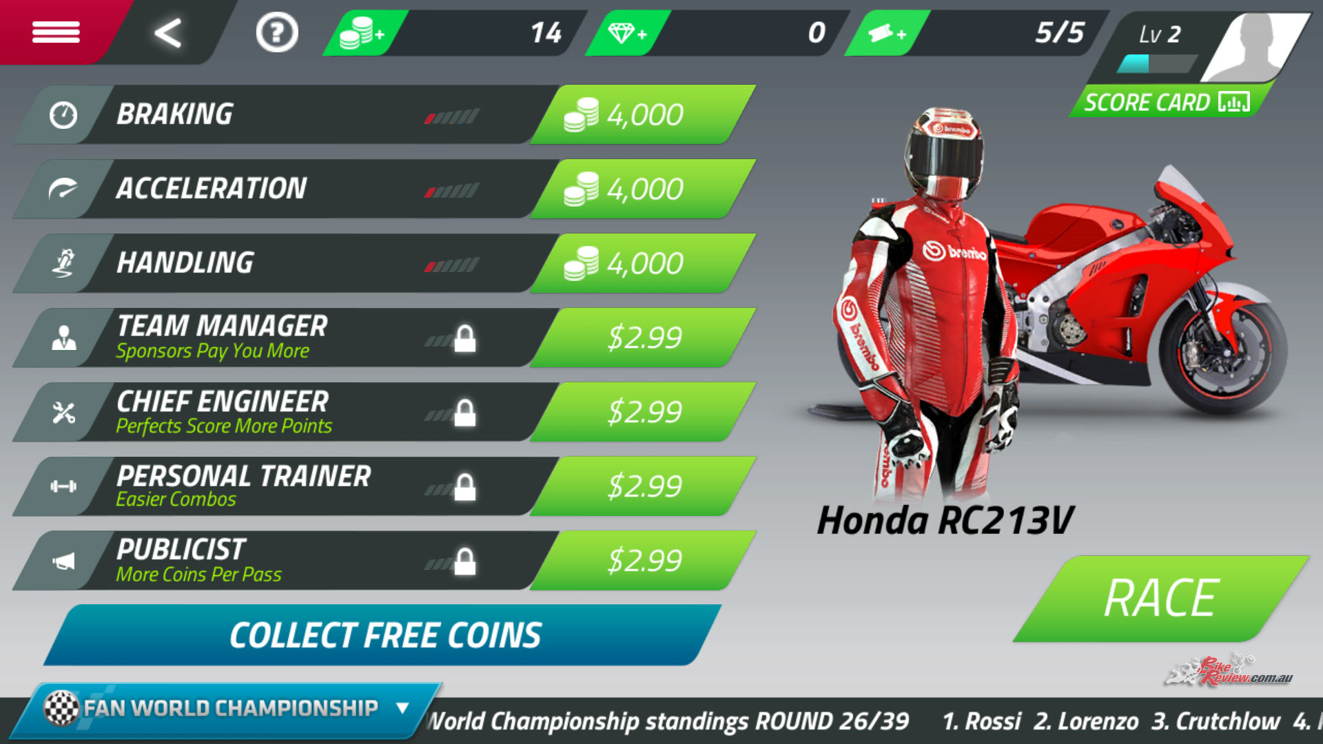motogp championship quest tournament motogp 2017 info
