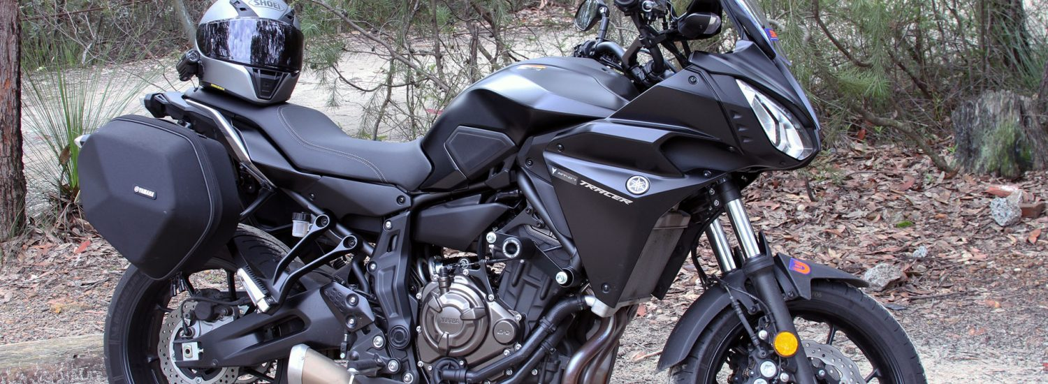 The Yamaha MT-07 Tracer is capable of taking on some rougher conditions
