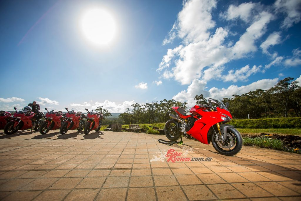 Ducati treated the Australian and New Zealand motorcycle press to an afternoon lapping the most amazing private test facility around. Almost 6km long, with 29 corners and more grip than you can believe. The SuperSport was at home and performed well. Beers were drank that night, I tell you!