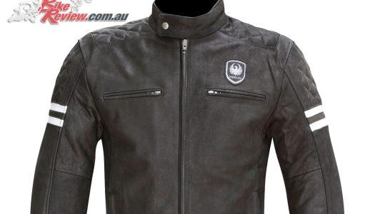New Product: Merlin Hixon leather jacket