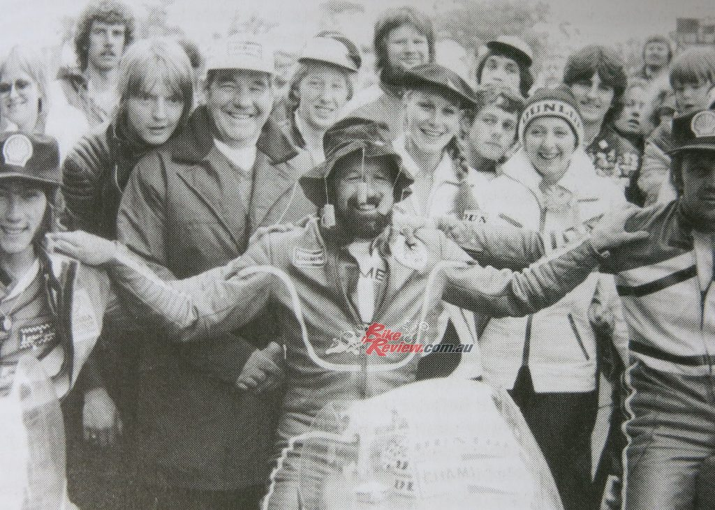 Returning to the Isle of Man TT in 1980 after a decade away, Barry Smith won the World TT F3 title. He backed it up the following year in 1981.