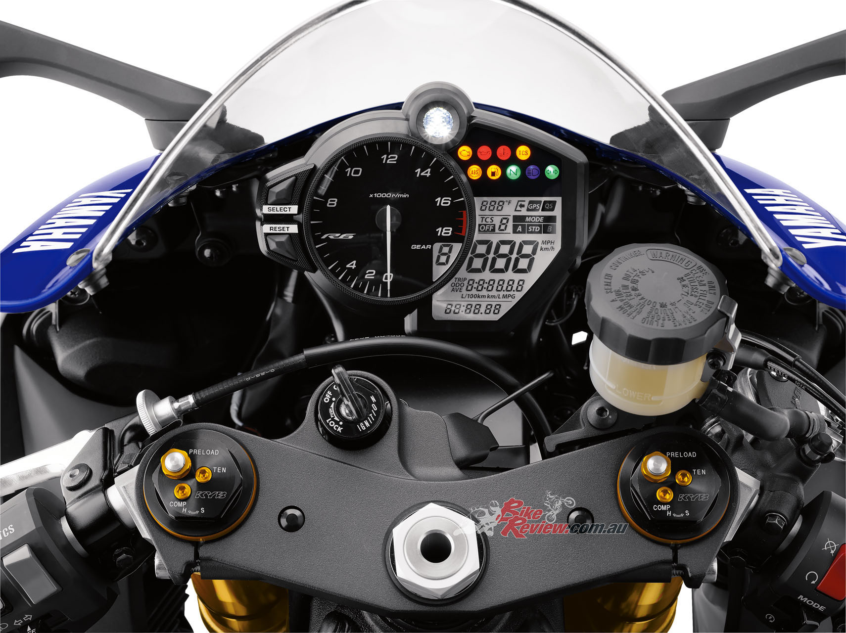 Review: 2017 Yamaha YZF-R6, Track Test - Bike Review