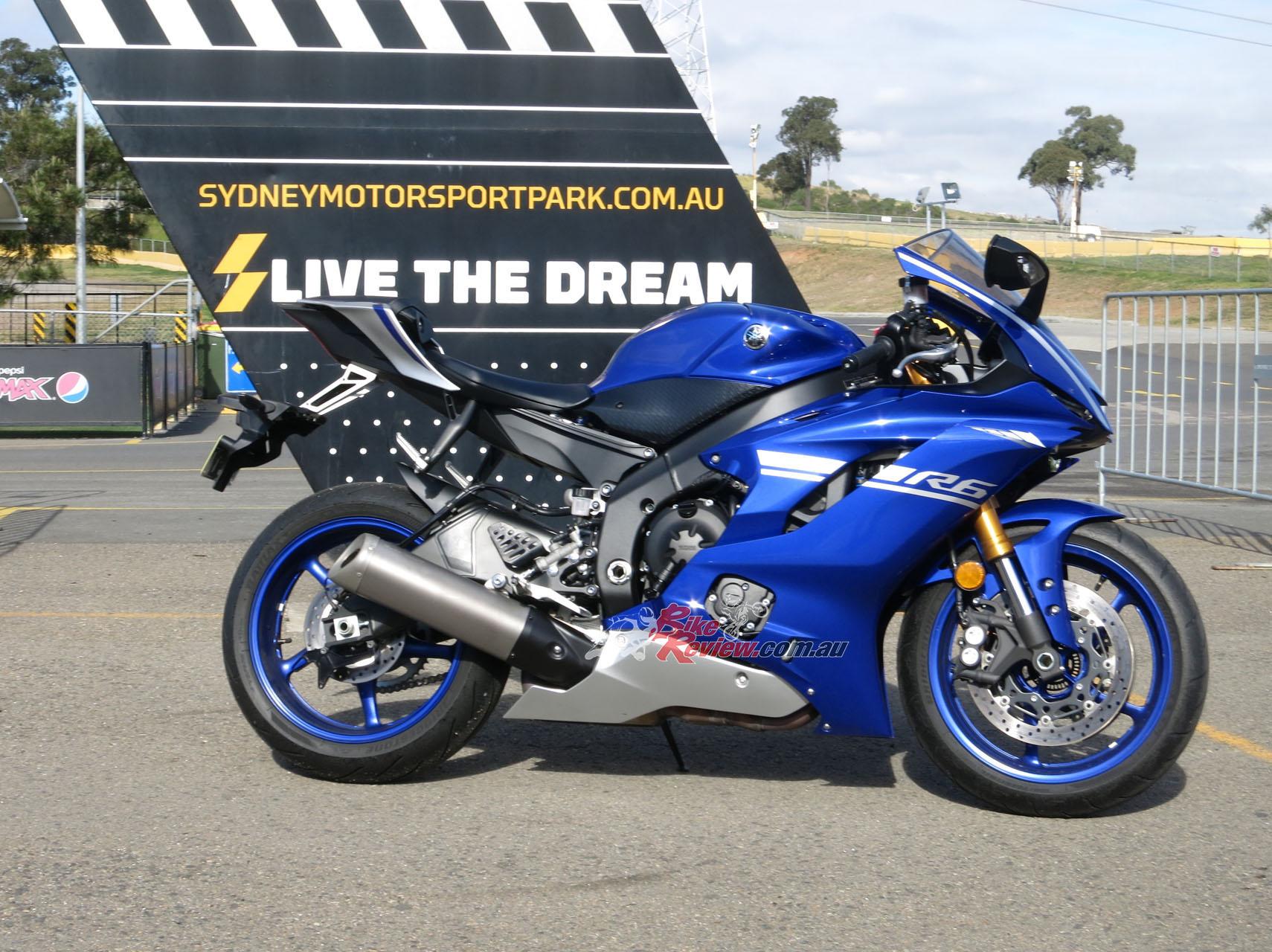The new Yamaha YZF-R6