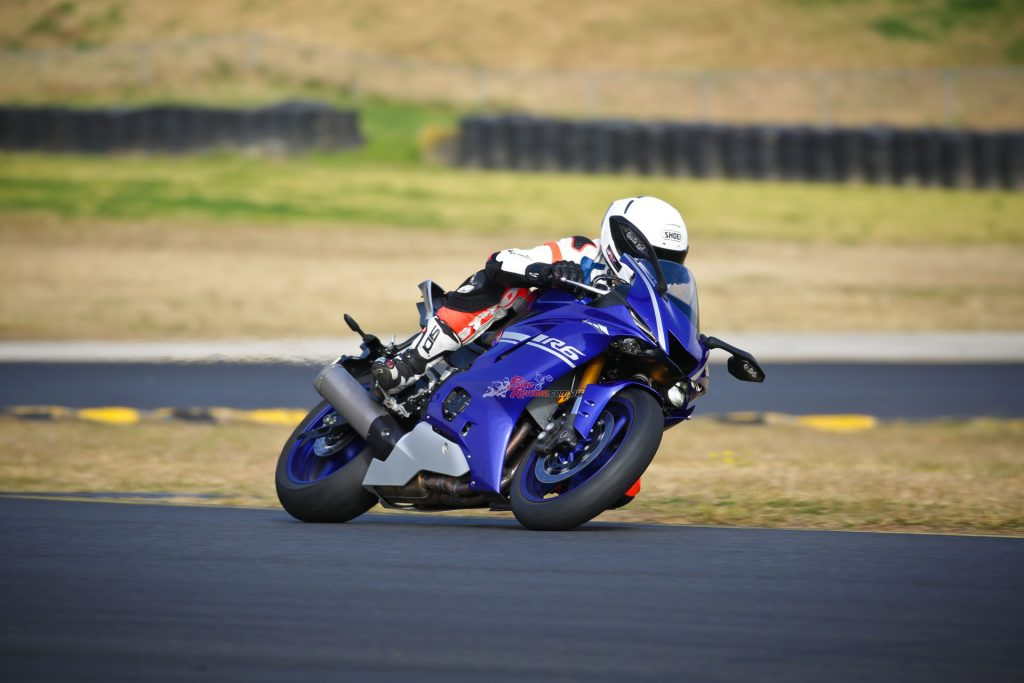 The TCS or Traction Control System has six levels plus the option of switching it off. I settled for L3 on the day as the rear tyre was worn and the track cool. I tried all option aside from off.