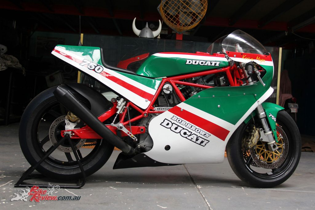 #M Bob Brown Ducati - Kevin Magee