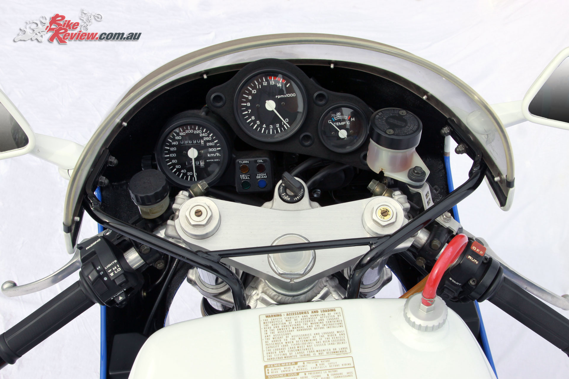 The list of components on the RC30 would have left most motorcyclists drooling even by today's standards