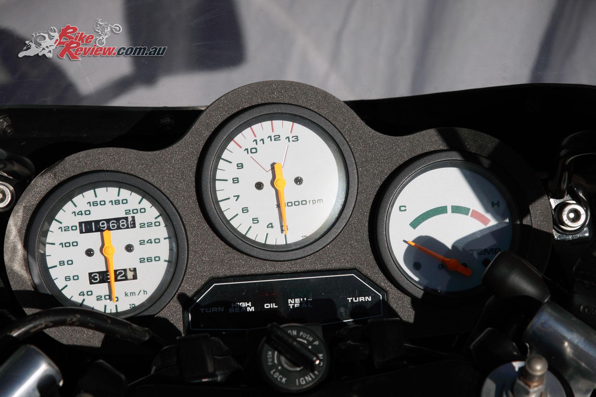 Suzuki RG500 dash