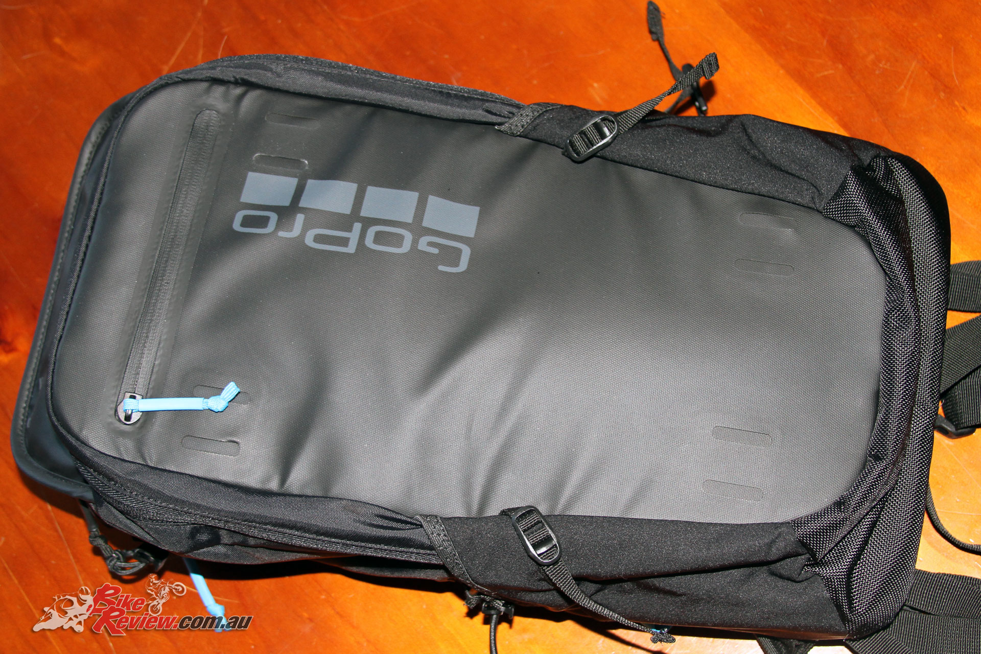 A seriously cool GoPro bag also offers heaps of features, from a standard mount on one of the straps, to an easy access top pocket and rear pocket for a small laptop.