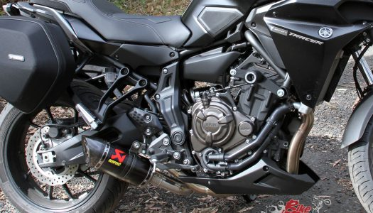 MT-07 Tracer Akrapovic Race Line Exhaust Review