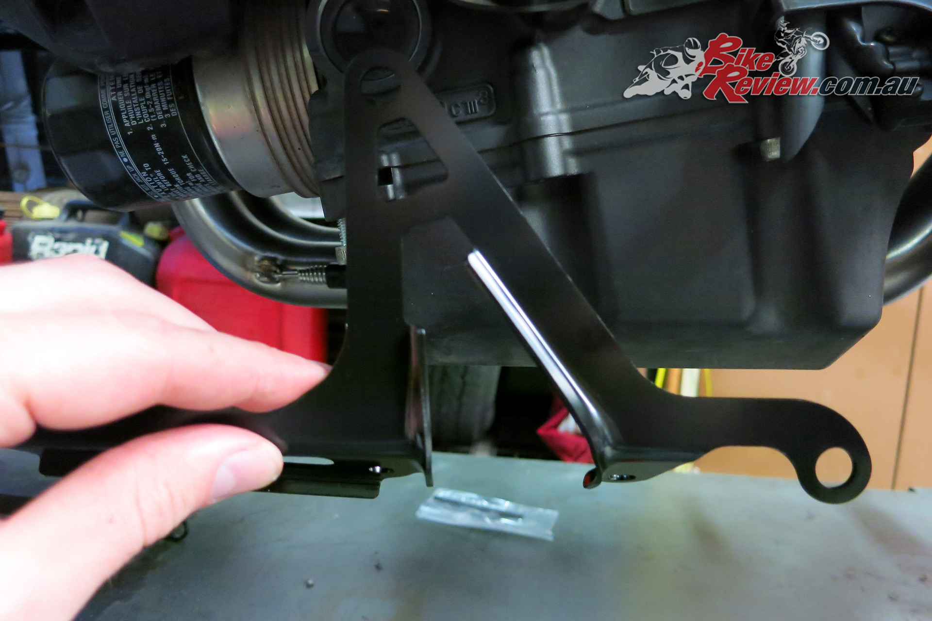 Left side is as easy as it gets. Check which sump bolts to remove.