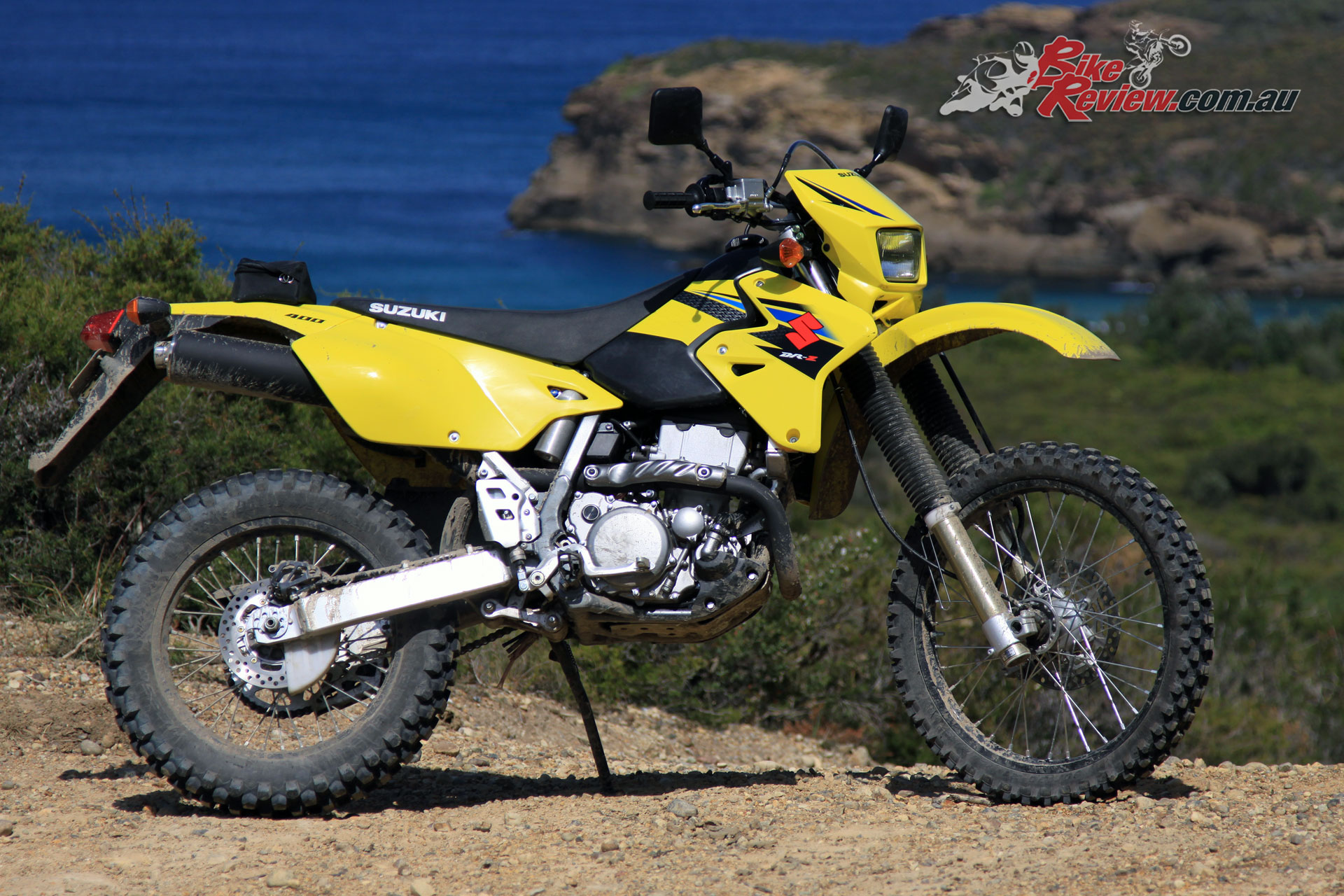 2018 Suzuki DR-Z400 side-on static