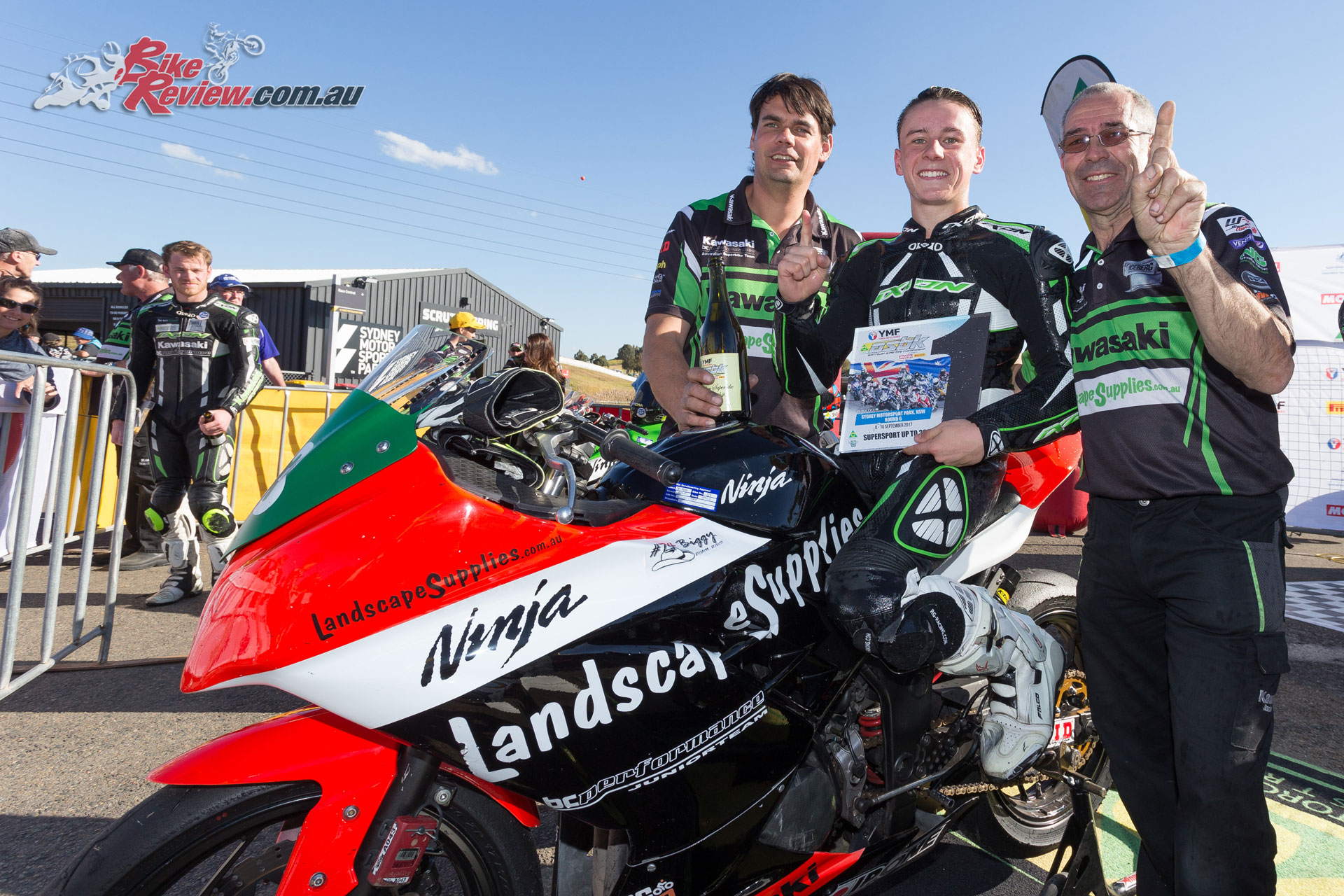 Reid Battye crowned Under 300s Supersport 300 Champion