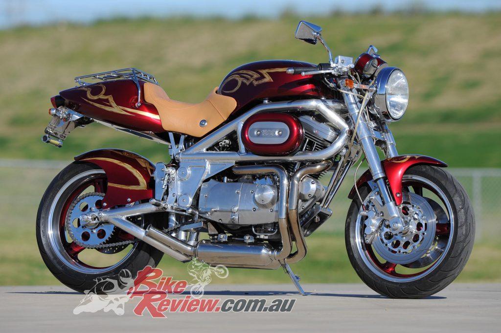 Bike Review Harley Sportster Cafe Raceer