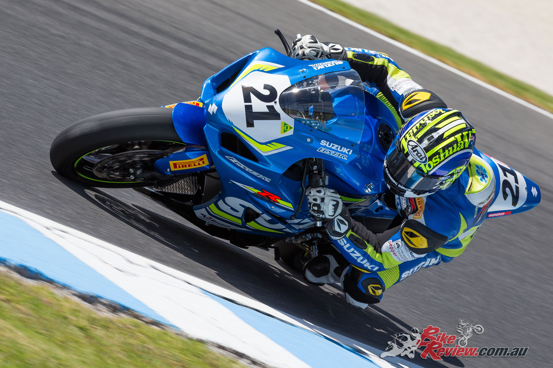 Josh Waters at Phillip Island - Image by TBG Photography