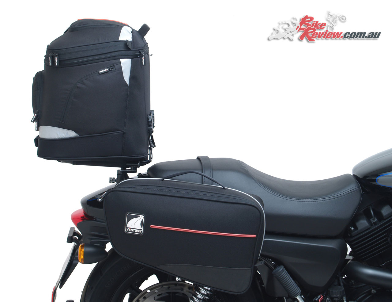Ventura EVO 40 and Bonneville 24L Panniers