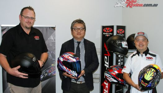 Kabuto Aeroblade-5 launched in Sydney by Moto National