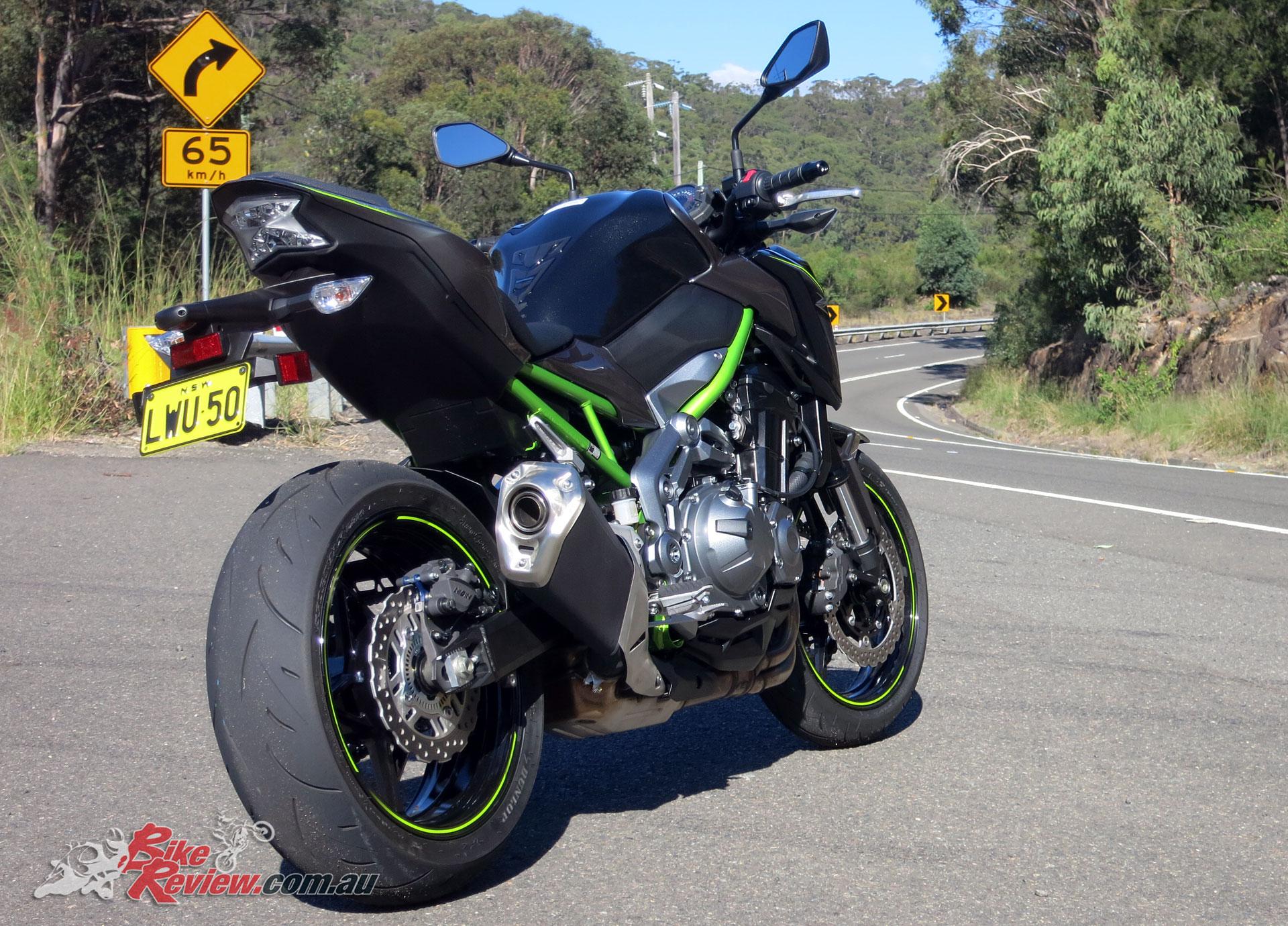 Kawasaki have got the balance between sports and naked just right