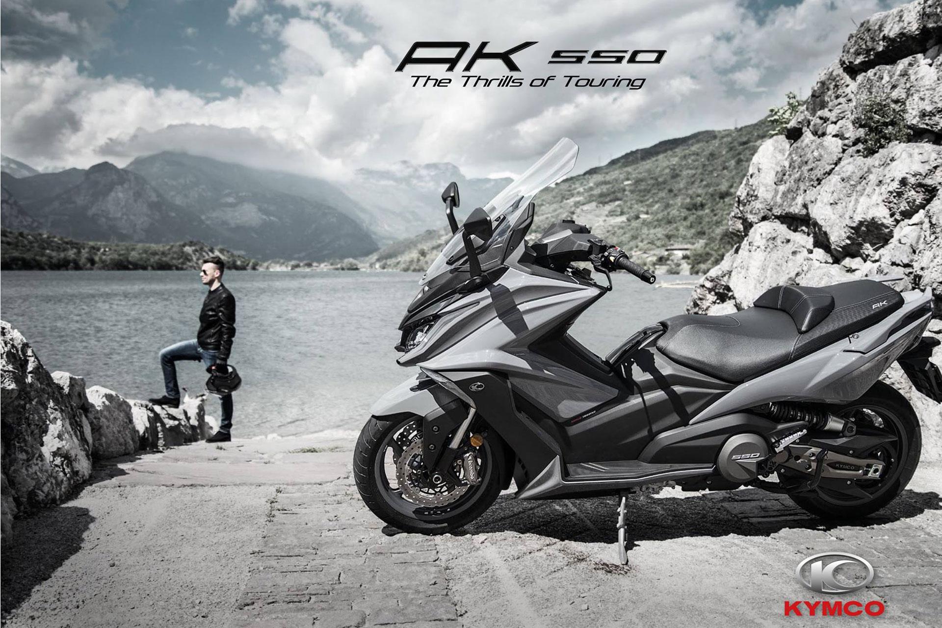2018 Kymco AK550 Scooter