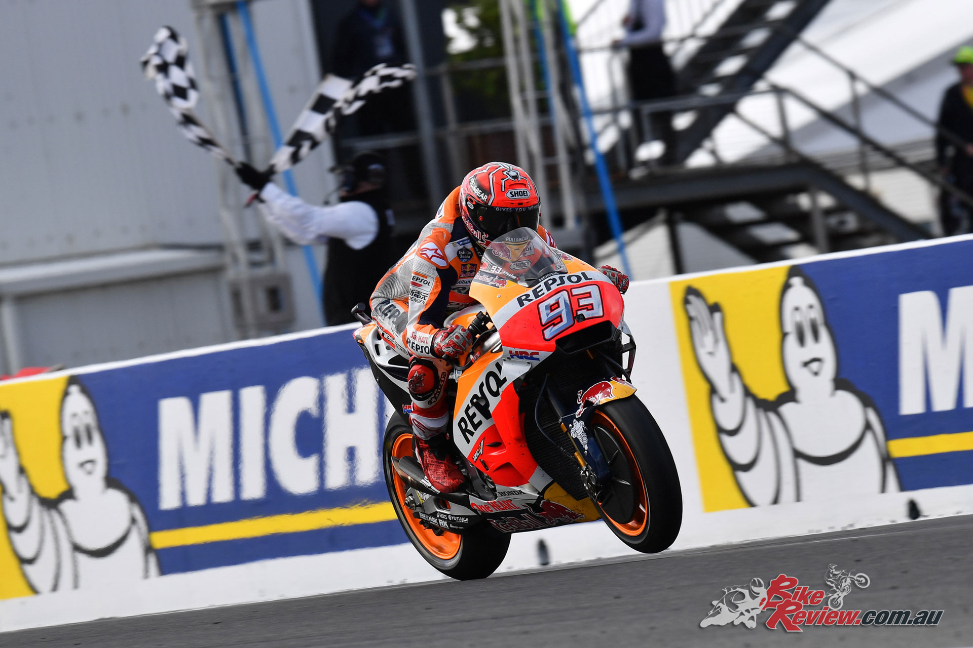 Marquez holds the advantage following his Phillip Island win