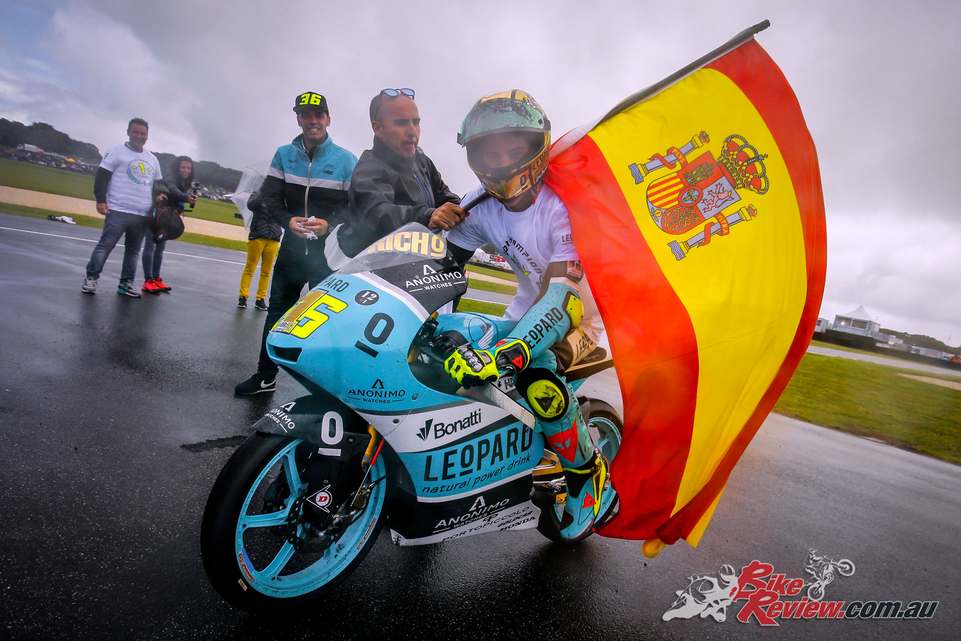 Joan Mir becomes Moto3 World Champion