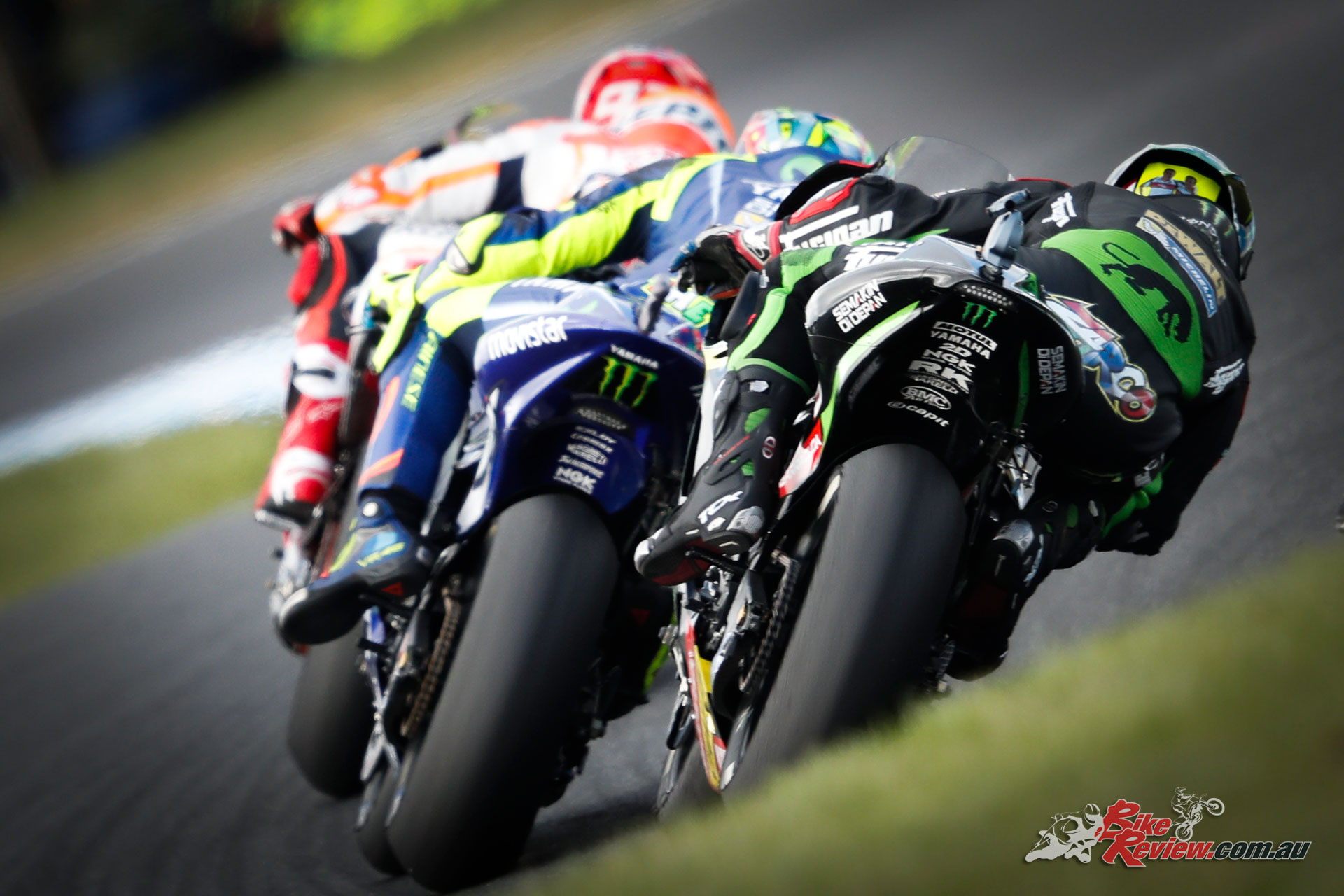 Johann Zarco ended up fourth, as first independent