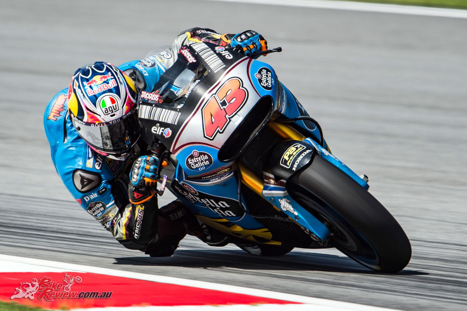 Miller took eighth behind Rossi