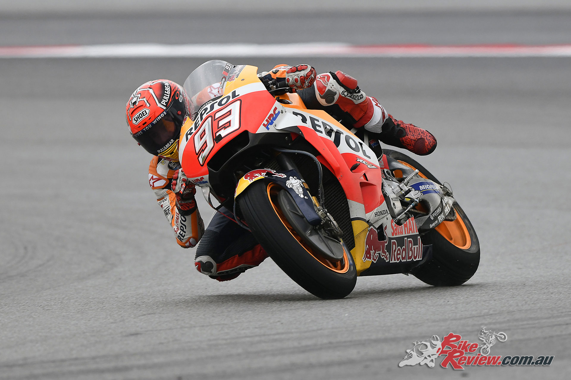 Marquez may be playing it safe with a reasonable lead in the championship tally at his back